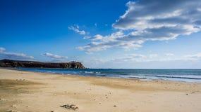 O Sandy Beach do mar Imagens de Stock