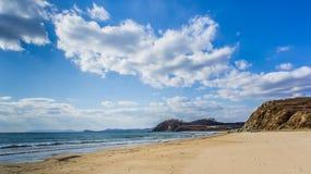 O Sandy Beach do mar Fotografia de Stock Royalty Free