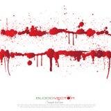 O sangue chapinha isolado no fundo branco, Fotos de Stock Royalty Free