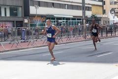 91.o santo Silvester Road Race Imágenes de archivo libres de regalías