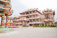 O santuário bonito do chinês Imagem de Stock Royalty Free