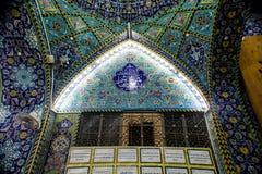 O santuário da imã Abbas imagem de stock