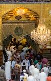 O santuário da imã Abbas imagens de stock