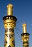 O santuário da imã Abbas fotografia de stock