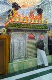 O santuário da imã al-Qasim Ibn al-Imam al-Kadhim fotografia de stock