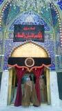 O santuário da imã al-Qasim Ibn al-Imam al-Kadhim foto de stock