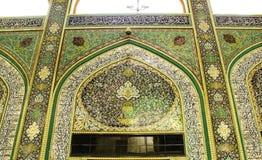 O santuário da imã Hussein em Karbala fotografia de stock