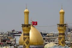 O santuário da imã Hussein em Karbala imagem de stock royalty free