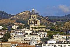 O santuário de Cristo o rei, Messina, Sicília Imagens de Stock Royalty Free