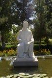 O santuário e a estátua do poeta Firdausi imagem de stock