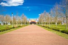 O santuário em Ludbreg fora vê Imagem de Stock