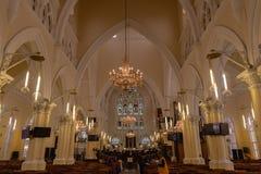 O santuário na igreja da catedral de Cristo Lagos fotos de stock royalty free