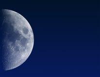 O satélite de nosso planeta Fotos de Stock Royalty Free