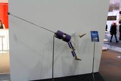 O satélite russian na expo do computador de CEBIT Imagens de Stock