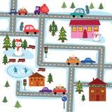 O sceme da cidade do Natal ilustração do vetor