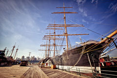 O schooner histórico em New York Fotos de Stock Royalty Free