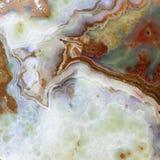 O seção transversal de uma parte de jade Fotos de Stock