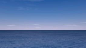 O Seascape rende Fotografia de Stock