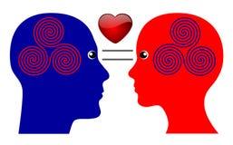 O segredo do amor Imagem de Stock