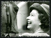 80.o sello del cumpleaños de la reina Elizabeth II Fotografía de archivo libre de regalías