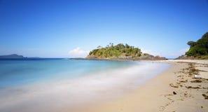 O selo da praia do número um balança NSW Austrália Fotografia de Stock