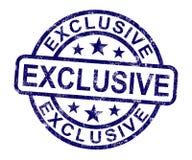 O selo exclusivo mostra produto limitado e raro Imagens de Stock