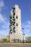 O senhor de De Stadsheer Cidade, 101 mede a torre residencial alta em Tilburg, Países Baixos Fotografia de Stock Royalty Free