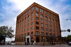 O sexto museu do assoalho em Dallas, Texas foto de stock