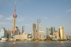O Shanghai próspero Pudong