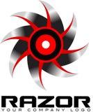 O Sharp considerou o logotipo Imagens de Stock
