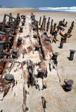 O Shipwreck permanece Fotos de Stock Royalty Free
