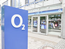 O2 shop Stock Images