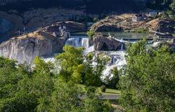O Shoshone cai Idaho fotografia de stock