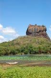 O Sigiriya (rocha do leão) fotografia de stock