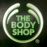 O Signage de Body Shop Fotos de Stock Royalty Free