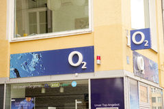 O2 signs Stock Images