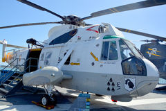 O Sikorsky SH-3 Sea King Foto de Stock