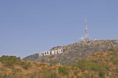 O sinal de Hollywood imagens de stock royalty free