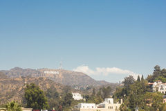 O sinal de Hollywood Foto de Stock Royalty Free