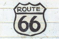 O sinal de Route 66 fotos de stock royalty free