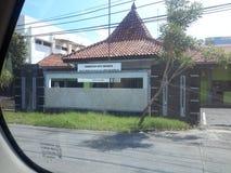 O sinal o mais engraçado da falha colocado nunca em Indonésia Imagem de Stock