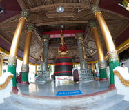 O Singu Min Bell, um grande sino situado no pagode de Shwedagon Imagens de Stock Royalty Free