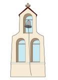 O sino do monastério Fotografia de Stock Royalty Free