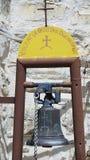 O sino em Chipre na igreja foto de stock royalty free