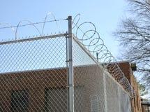 O sistema prisional foto de stock