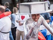O Soapbox de Red Bull encanta a cabeça Fotografia de Stock Royalty Free