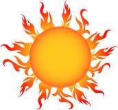 O sol fotografia de stock royalty free