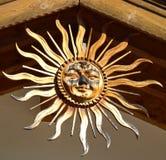 O sol imagem de stock