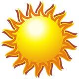 O sol Foto de Stock Royalty Free