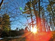 O sol brilhará imagens de stock